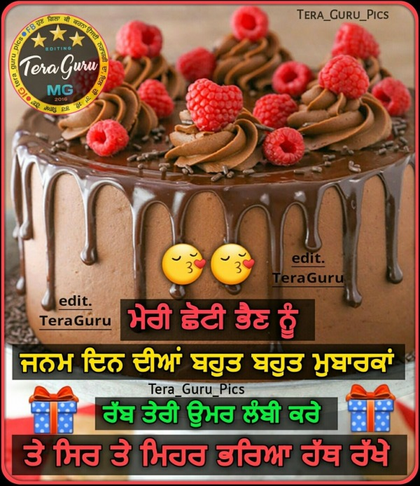 Birthday Wishes In Punjabi Pictures, Images, Photos