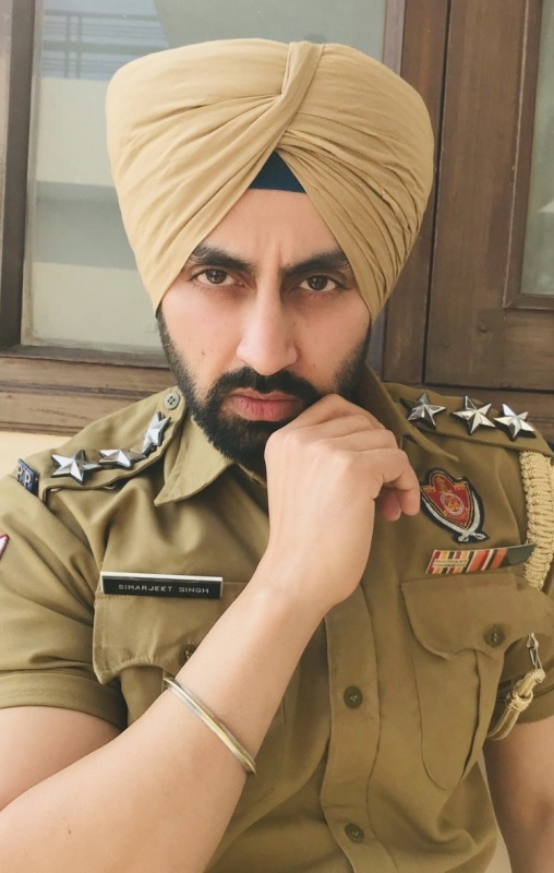 Picture: Sardar Actor Simarjeet Singh Nagra as Police Uniform