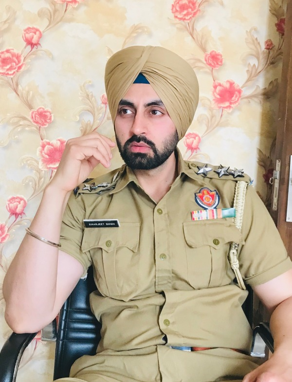 Picture: Actor Simarjeet Singh Nagra In Uniform