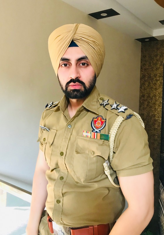 Picture: Simarjeet Nagra As Police Officer in Film