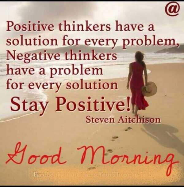 Positive Thinkers Have A Solution
