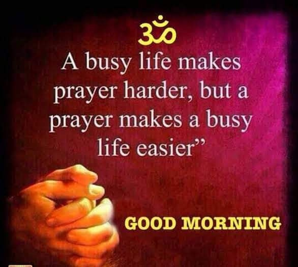 Picture: A Busy Life Makes Prayer Harder