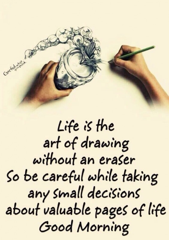 Life Is The Art Of Drawing