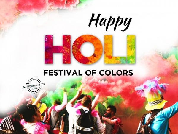 Picture: Happy Holi Festival Of Colors
