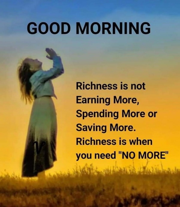 Richness Is Not Earning More