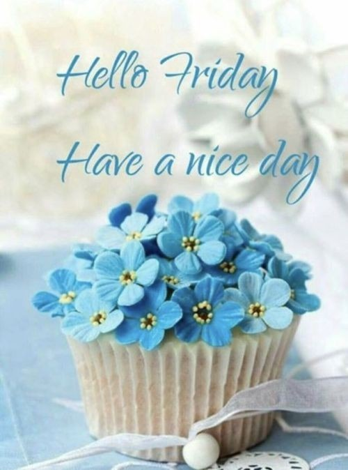 Hello Friday Have A Nice Day