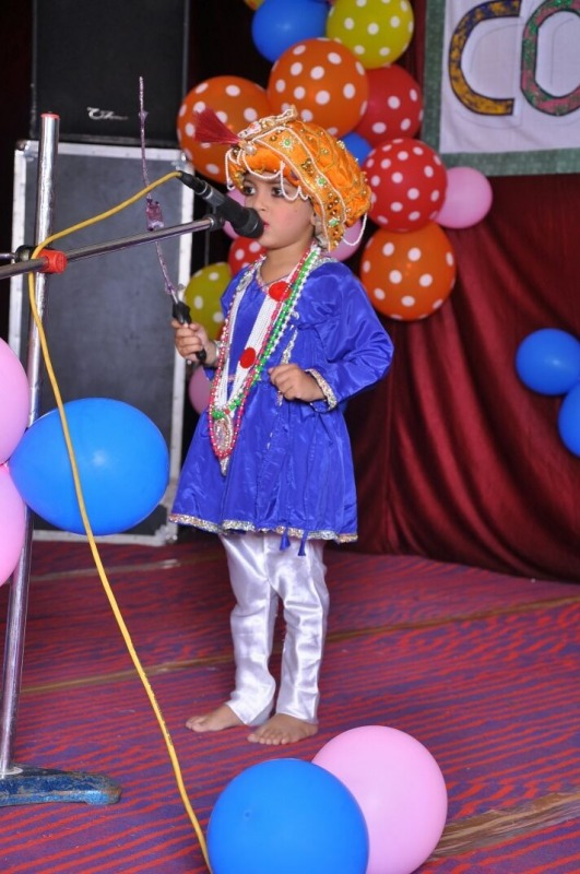 Picture: Cute Little Boy Performing In Fancy Dress Competition