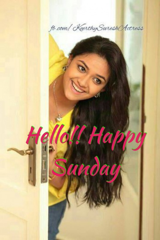 Hello Happy Sunday