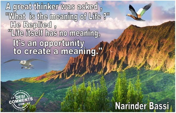 Picture: A Great Thinker Was Asked