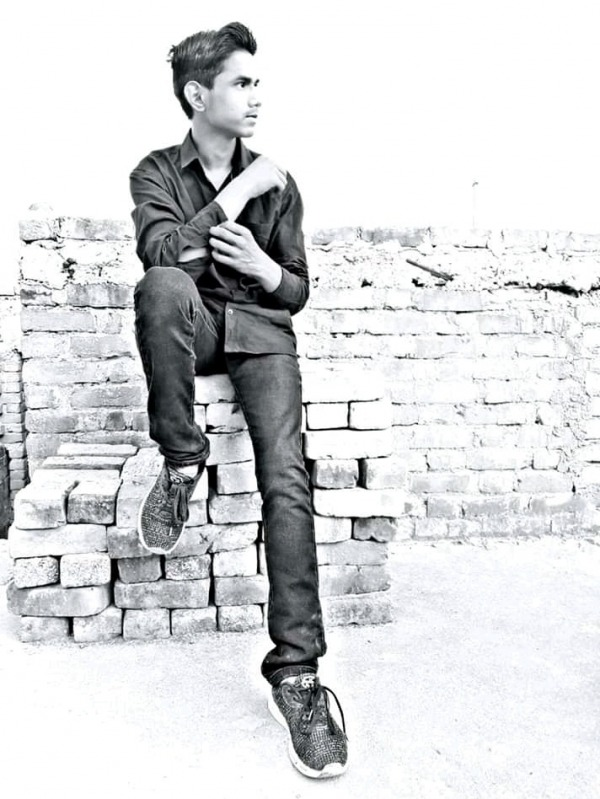 Picture: Black And White Image Of Akshay Kashyap
