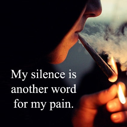 Picture: Beautiful Sad Life Quote……Pain