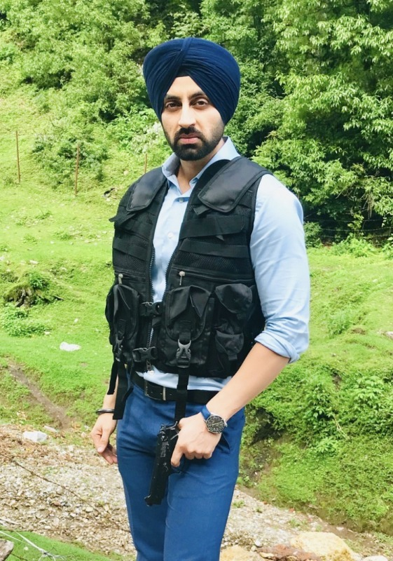 Picture: Sikh Actor Simarjeet As Soldier