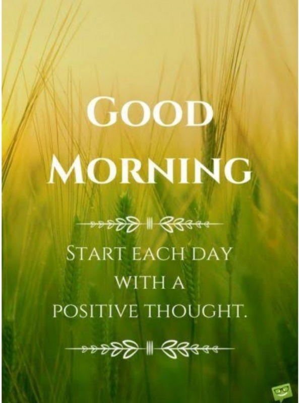 Start Your Day Positive Thought