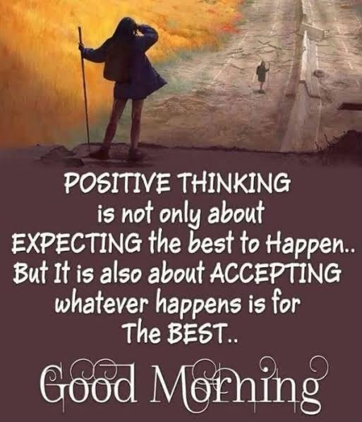 Picture: Positive Thinking Is Not Only About Expecting