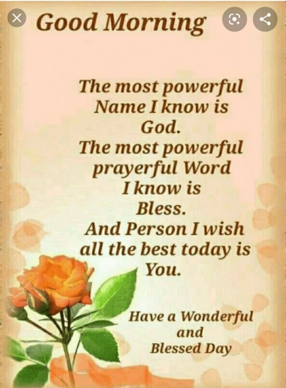 The Most Powerful Name I Know Is God