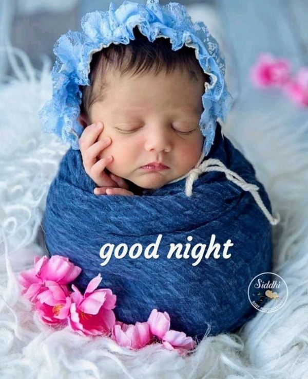 Good Night With Cute Baby