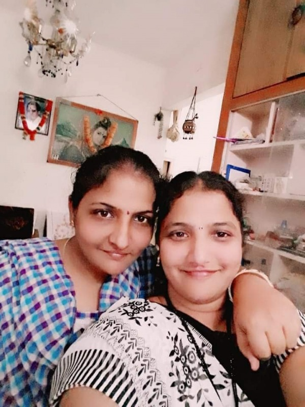 Picture: Image Of Kathyayani And Her Mother