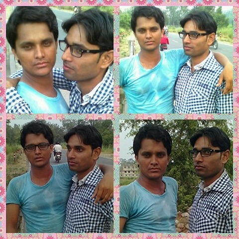 Rizwan Aarif With His Friend