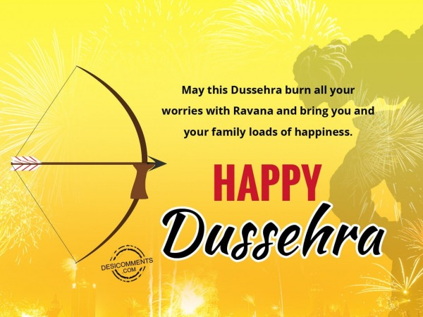 Picture: May this Dussehra burn all your worries