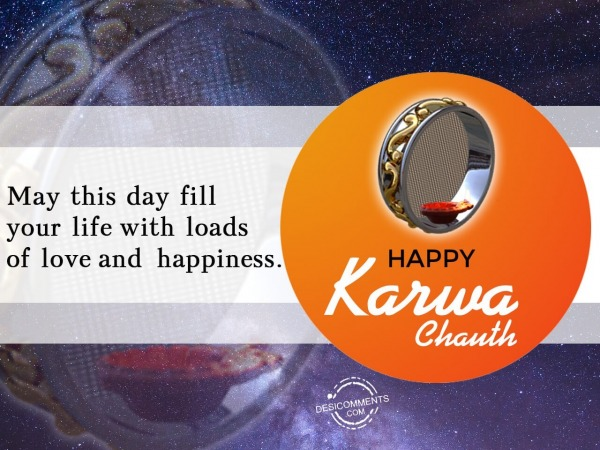 Day of love and happiness, Happy Karwa Chauth