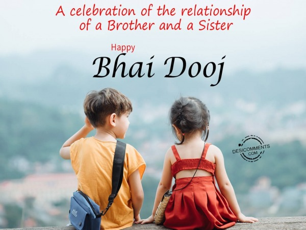 Celebration of relationship of a brother and sister