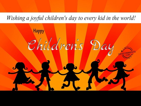 Picture: Wishing A Joyful Children's Day