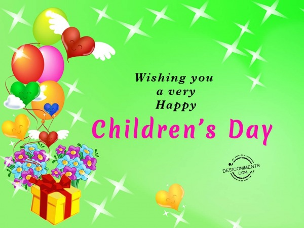 Picture: Wishing You A Very Happy Children's Day