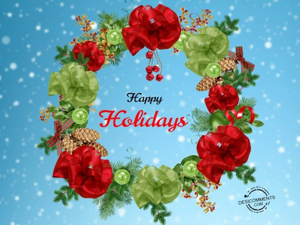 Wishing you a very Happy holidays
