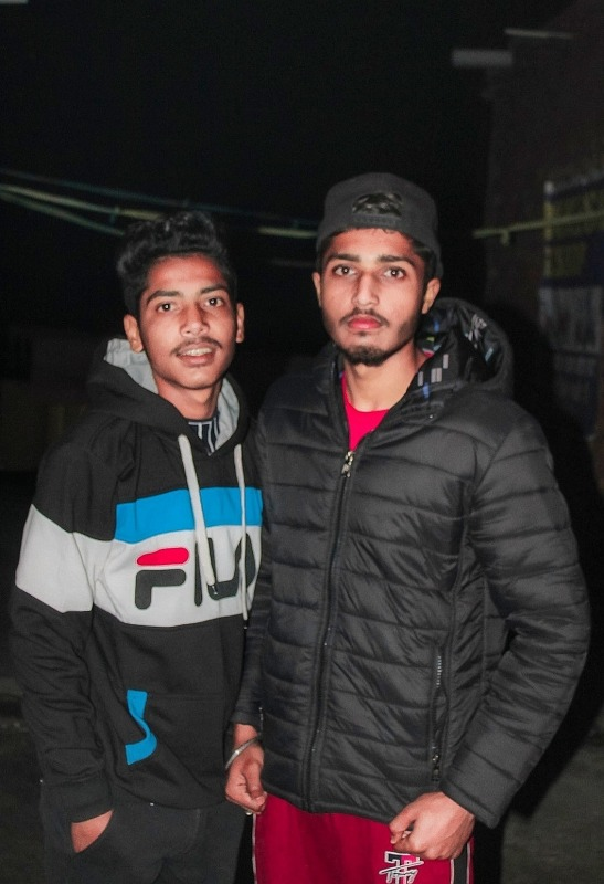 Picture: Sourav Ranipuriya With His Brother