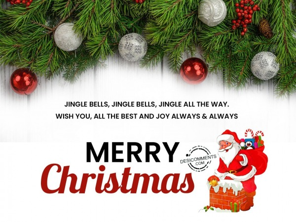 Picture: Jingle bells, jingle all the way, Merry Christmas