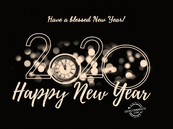Have a blessed new year