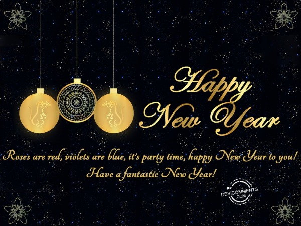 Have a fantastic New year