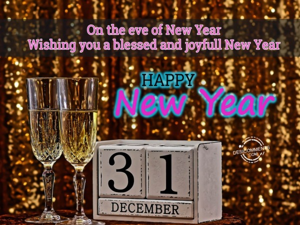 Picture: Wishing you blessed and joyful new year