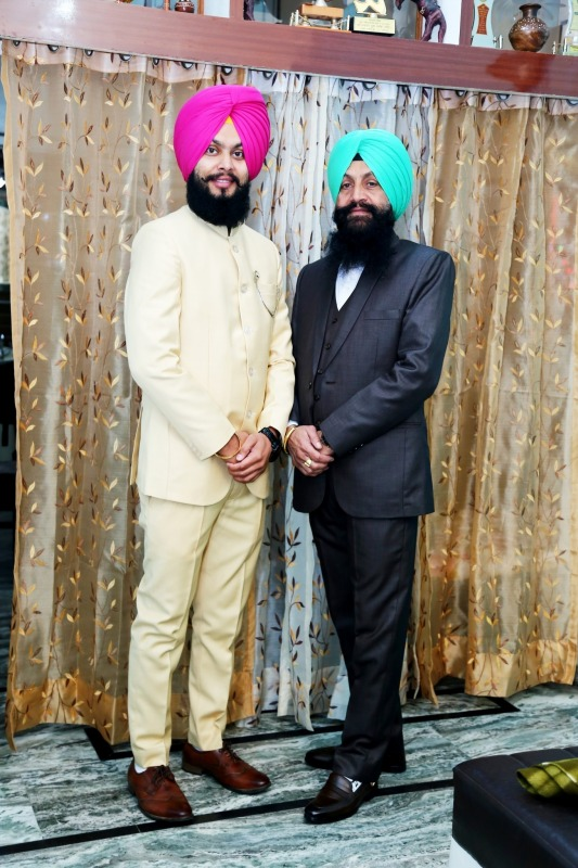 Shupinder Rattol With His Father