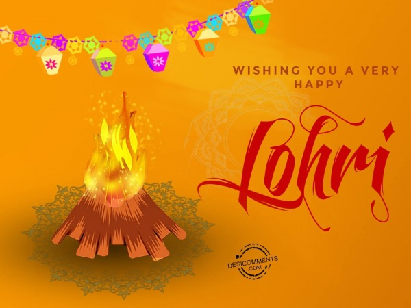 Picture: Wishing you a very Happy Lohri