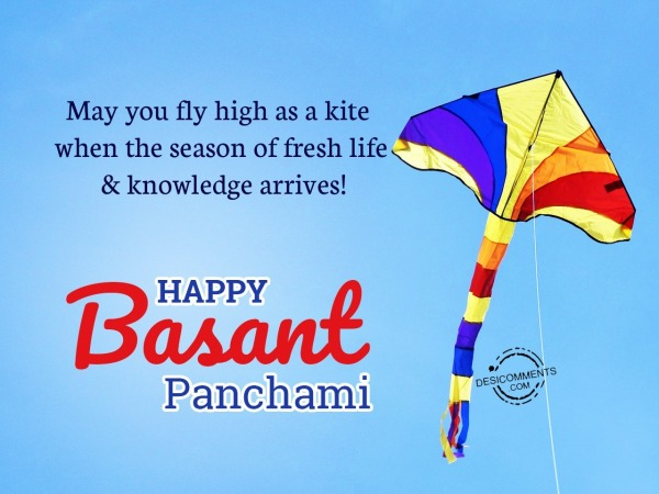 Picture: May you fly high as a kite, Happy Basant Panchami