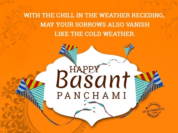 With the chill in the weather receding, Happy Basant Panchami