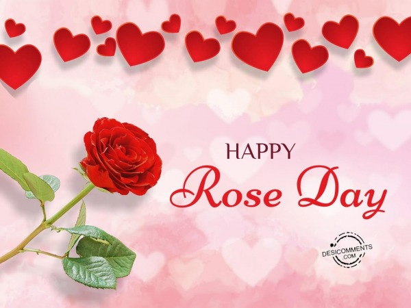 Picture: Happy rose day