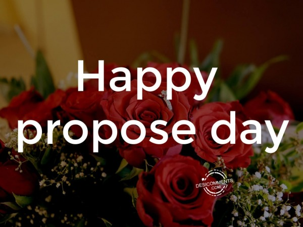 Wish you very happy propose day