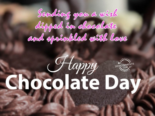 Picture: Wishing you a very happy chocolate day
