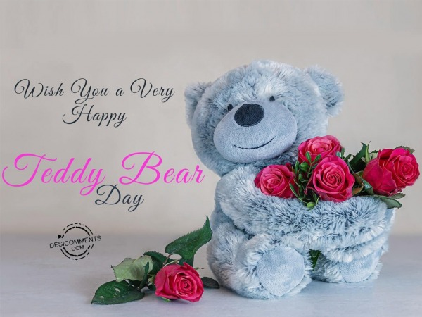 Wish you a very happy teddy day