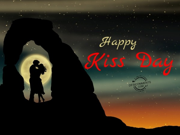 Wishing you a very Happy Kiss Day