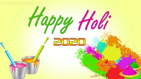 Happy Holi Image 2020