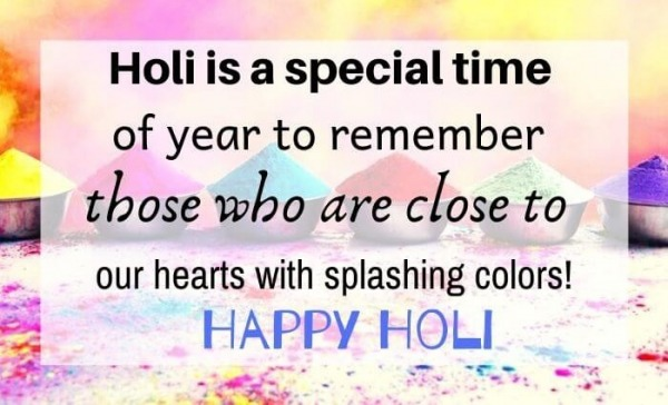 Happy Holi Quote