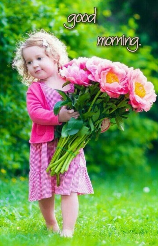 Awesome Good Morning Image For Baby Girl