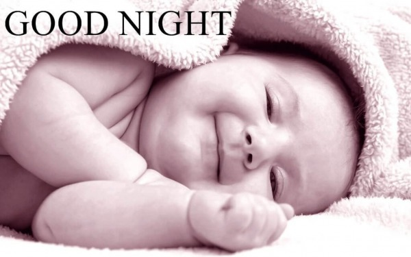 Picture: Very Cute Baby Good Night