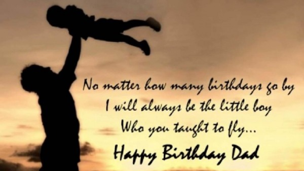 Quote Of Happy Birthday Dad