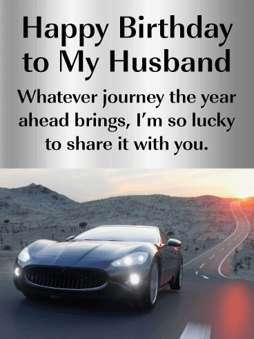 Picture: Quote For Happy Birthday To My Husband
