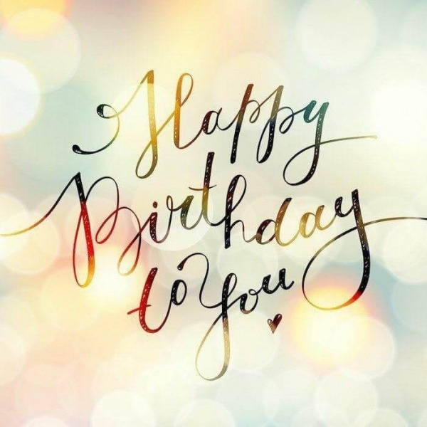 Picture: Beautiful Graphic Of Happy Birthday