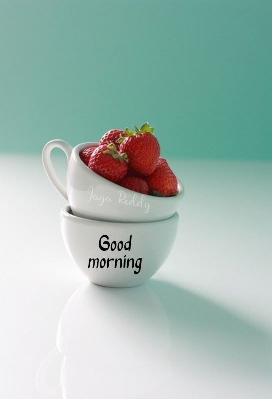 Morning With Strawberries